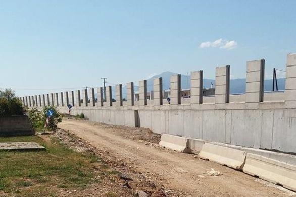 Το… τείχος του Δρεπάνου - Δείτε εικόνες από την χάραξη της διέλευσης του τρένου!