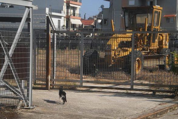 Πάτρα: Παύση εργασιών και πάλι στο γήπεδο των Προσφυγικών - Περιμένει η ΕΠΣΑ