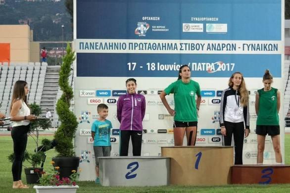 Κατερίνα Κυριακοπούλου: «Το ασημένιο μετάλλιο στην Πάτρα το αφιερώνω στον Βασίλη Βενέρη»