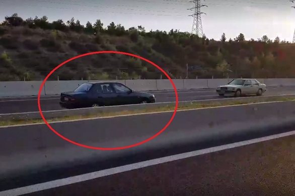 Ι.Χ. κινούνταν επί χιλιόμετρα στο αντίθετο ρεύμα στην εθνική Κορίνθου-Πατρών! (video)