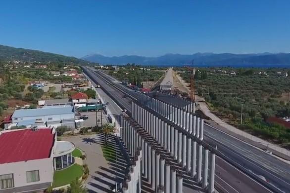 Η πρόοδος των εργασιών της σιδηροδρομικής γραμμής στο τμήμα Κιάτο - Ροδοδάφνη - Ψαθόπυργος (vids)