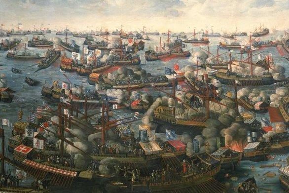 Σαν σήμερα 7 Οκτωβρίου ο χριστιανικός στόλος καταστρέφει στη Ναύπακτο τον τουρκικό