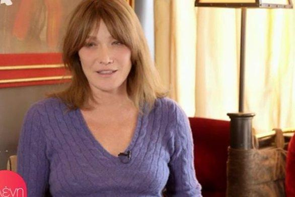 """Η Κάρλα Μπρούνι εξομολογήθηκε την ηλικία της στην εκπομπή """"Ελένη"""" (video)"""