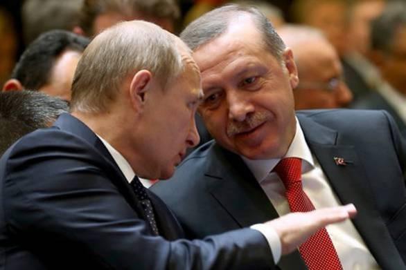 Ερντογάν και Πούτιν συζήτησαν από ντομάτες... μέχρι τους S-400 στην χθεσινή συνάντηση