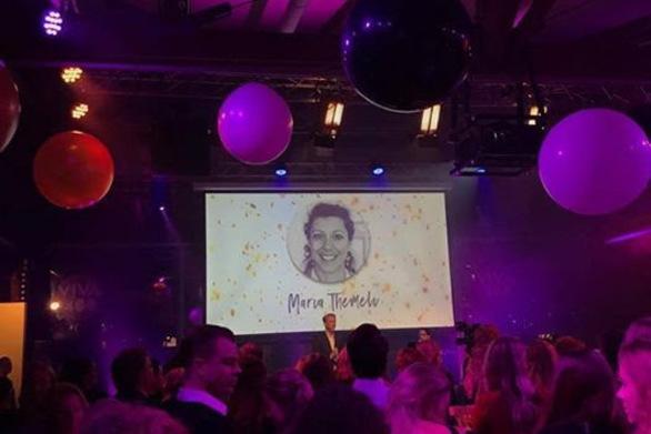 Γυναίκα της Χρονιάς 2017 για την Ολλανδία, η Πατρινή Μαρία Θέμελη!