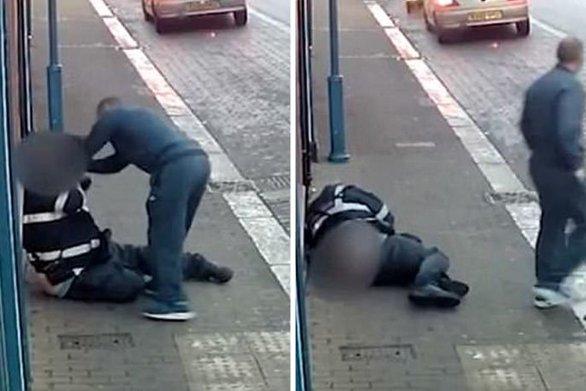 Του έκοψε κλήση και εκείνος του επιτέθηκε σπάζοντάς του τον ώμο (video)
