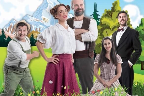 Η παιδική σκηνή της Θεατρικής Εταιρίας Μέθεξις, παρουσιάζει τη «Χάιντι» στην Πάτρα!