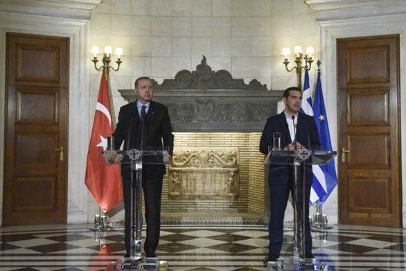 Διαφωνούν Τσίπρας και Ερντογάν για Συνθήκη Λωζάνης και πραξικοπηματίες!