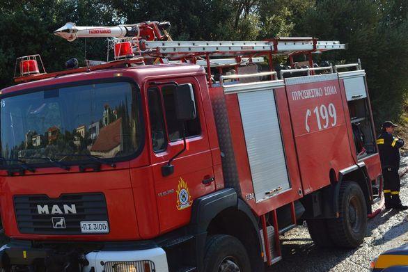 Ηλεία: Στις φλόγες παραδόθηκε μονοκατοικία