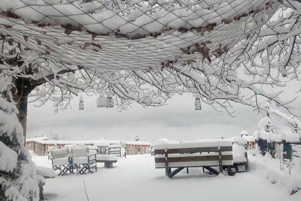 Στα «λευκά» η ορεινή Ναυπακτία και το 2018 - Εντυπωσιακές φωτογραφίες