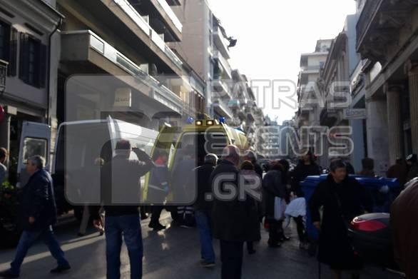 Πάτρα: Τραυματίστηκε νεαρή στην Αγίου Νικολάου και Μαιζώνος
