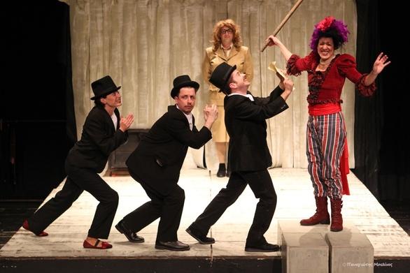 """ΔΗ.ΠΕ.ΘΕ. Πάτρας - """"Η Τρελή του Σαγιό"""" συνεχίζει δυναμικά την θεατρική της διαδρομή!"""