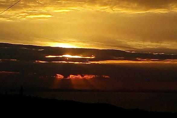 Μαγικό ηλιοβασίλεμα από τη Δραγώλενα!