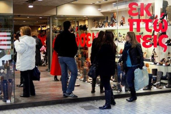 Ανοιχτά σήμερα τα καταστήματα στην αγορά της Πάτρας