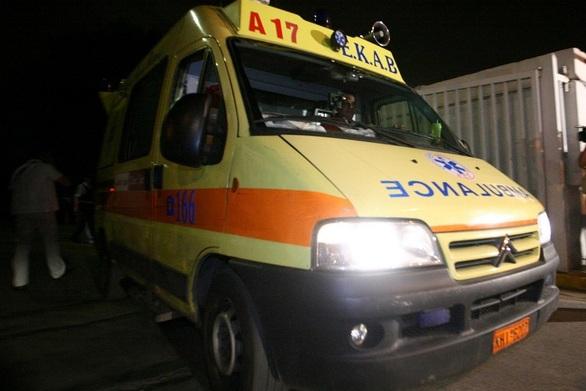 Τροχαίο με δύο τραυματίες στην Πάτρα