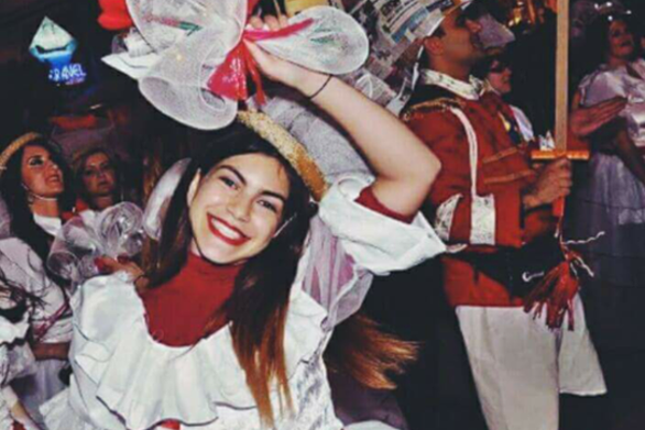 Ελένη Κυδωνιάτη: «Φεβρουάριος και...Πατρινό Καρναβάλι για πάντα!»