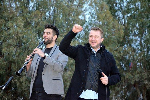 Βελισσάρης: Φώναζε ρυθμικά το όνομα του Πελετίδη στο Νότιο Πάρκο (pics+vids)