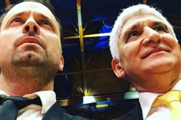 Ο Γιώργος Λιανός, δίπλα στον Παναγιώτη Γιαννάκη, στο All Star Game της Πάτρας (φωτο)