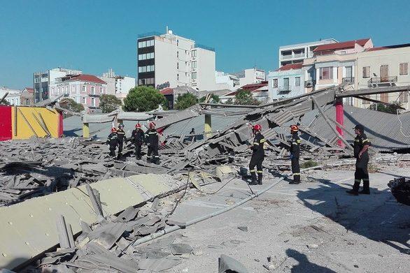 """Δήμος Πατρέων: """"Άδικο το πρόστιμο για την κατάρρευση του κτιρίου στο λιμάνι"""""""