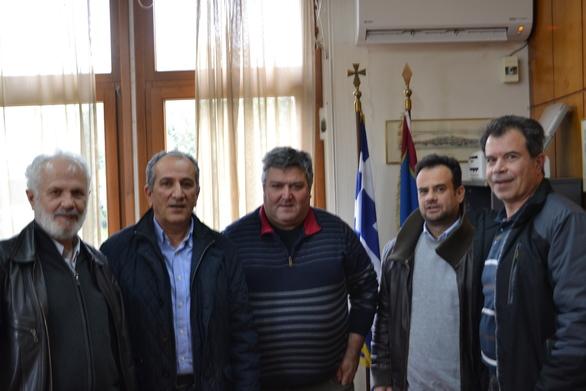 Τα μέλη του ΕΕΤΕΜ Αχαΐας πραγματοποίησαν συνάντηση στο γραφείο του Πρύτανη του ΤΕΙ Δυτικής Ελλάδας