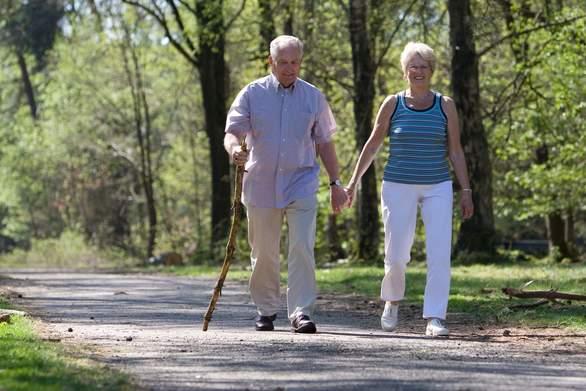 Η καθημερινή ελαφριά άσκηση βοηθά τους ηλικιωμένους