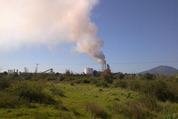 """""""Ντουμάνι"""" η Δυτική Αχαΐα από τα πυρηνελαιουργεία!"""