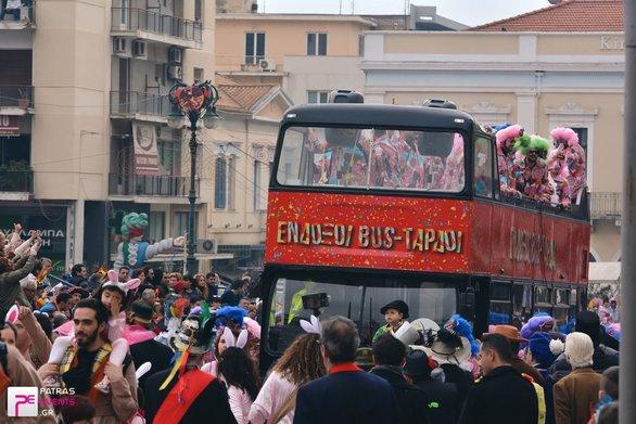 Σημείο αναφοράς το Καρναβάλι της Πάτρας για την Νοτιοανατολική Ευρώπη (vids)