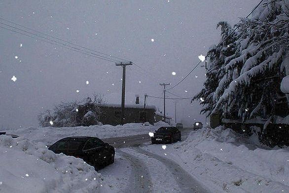 Μεγάλα τα ύψη βροχής και χιονιού στην Ελλάδα