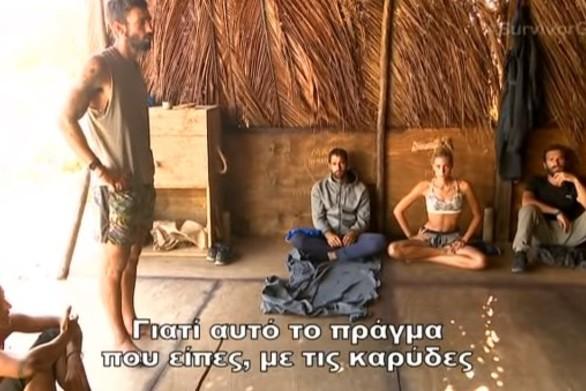 Survivor: Νέος καβγάς μεταξύ των Μαχητών - Κατηγόρησαν τον Ηλία για κλοπή (video)