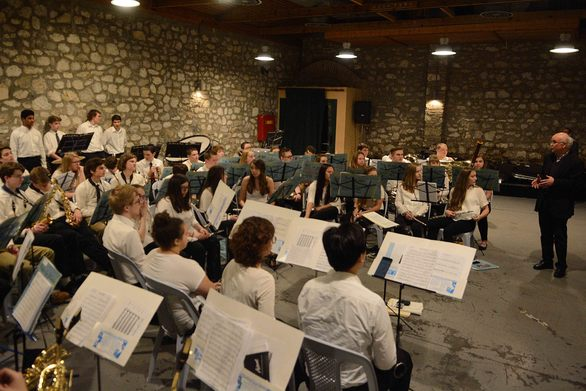 Η Αμερικανική Ορχήστρα του Mounds View High School Band πραγματοποίησε μια μοναδική συναυλία στην Πάτρα! (pics)