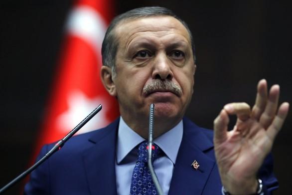 """Ερντογάν: """"Ελπίζουμε η πόλη Αφρίν να «πέσει»"""""""