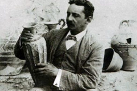 Σαν σήμερα 16 Μαρτίου ο σερ Άρθουρ Έβανς ξεκινά την ανασκαφή στα ερείπια της Κνωσού