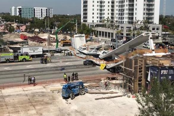 Φλόριντα: Το πανεπιστήμιο ήταν ενήμερο για τις ρωγμές στην πεζογέφυρα