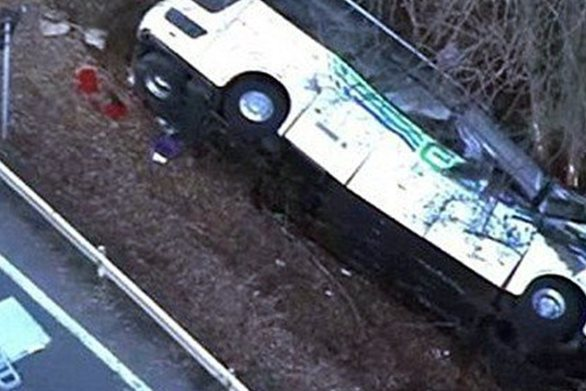 Ισημερινός: Δώδεκα νεκροί σε δυστύχημα με λεωφορείο