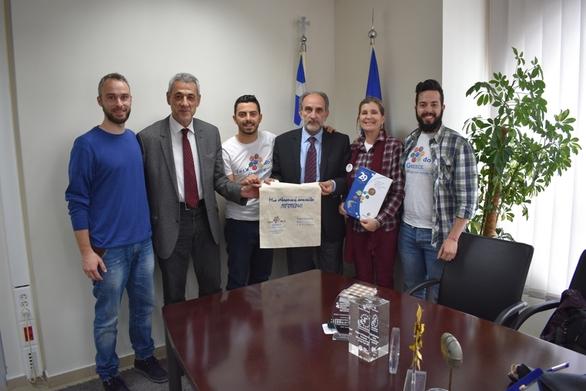 """Η Περιφέρεια Δυτικής Ελλάδας στηρίζει ενεργά την εκστρατεία """"Let's Do It Greece"""""""