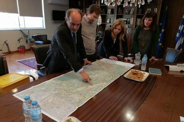 Δυτική Ελλάδα: Στον Περιφερειάρχη παρουσιάστηκε η μελέτη για την οδική σύνδεση του Αγρινίου με την Ιόνια Οδό