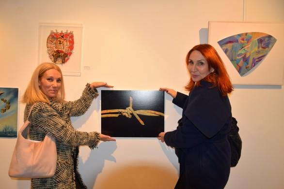 """Πραγματοποιήθηκαν τα εγκαίνια της έκθεσης """"η Τέχνη, ο Εαυτός μου"""" (pics)"""