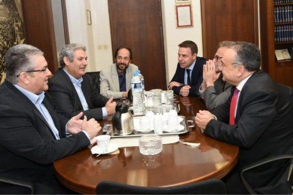 Οι δικηγόροι συναντήθηκαν με τον Δημήτρη Κουτσούμπα