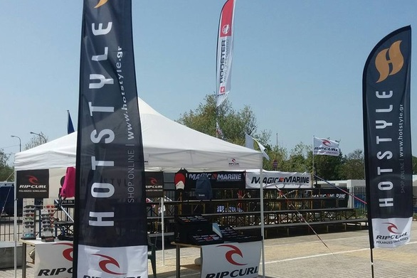 HOTSTYLE & RIP CURL Sunglasses επίσημοι υποστηρικτές στο 2018 European Youth Championships laser 4.7