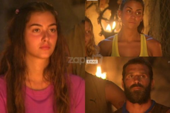 Survivor: Ροδάνθη, Φελίσια και  Κωνσταντίνος οι υποψήφιοι προς αποχώρηση (video)