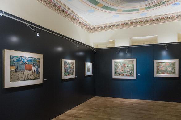 Αίγιο - Θαυμασμός και συγκίνηση στα εγκαίνια της έκθεσης ζωγραφικής του Γιάννη Σπυρόπουλου (φωτο)