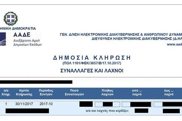 aade.gr Φορολοταρία - Την Τρίτη 29 Μαΐου η επόμενη κλήρωση - Πώς θα πάρετε τα 1.000 ευρώ