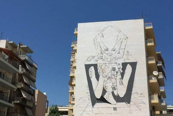 Ξεκίνησε η 5η τοιχογραφία που θα δώσει χρώμα στο γκρίζο της Πάτρας!