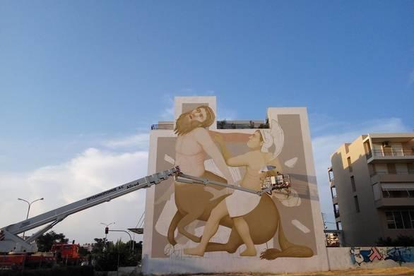Το 3οΔιεθνέςStreetArtFestivalPatrasδίνει παλμό και χρώμα στην πόλη!