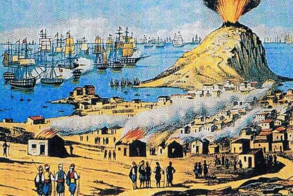Σαν σήμερα 20 Ιουνίου οι Τούρκοι καταστρέφουν τα Ψαρά