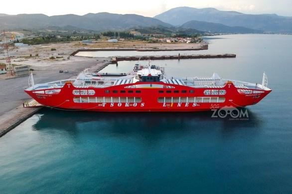 Πάτρα: Το εντυπωσιακό πλοίο που ξεκίνησε δρομολόγια στο Ρίο - Αντίρριο (pics+video)