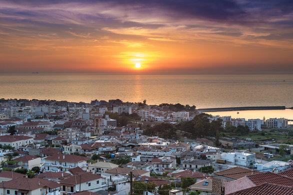 Κυπαρισσία, το μαγευτικό ηλιοβασίλεμα του Ιονίου (pics +video)