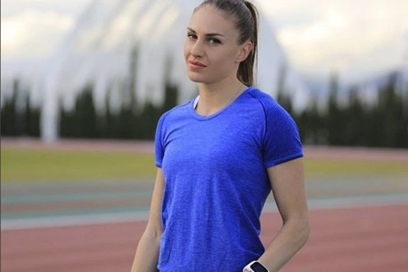 Κατερίνα Δαλάκα: Eπέστρεψε στο γήπεδο (φωτο)
