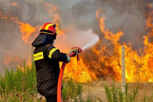 Υψηλός σήμερα ο κίνδυνος πυρκαγιάς στην Αχαΐα