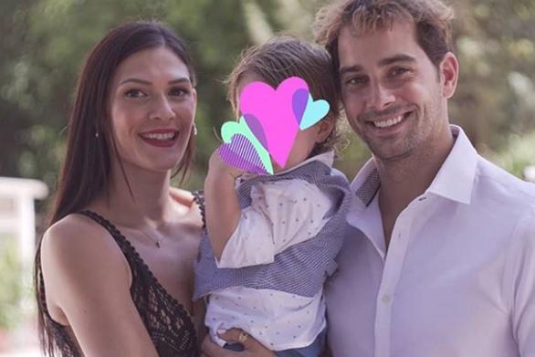 Ο Χάρης Γιακουμάτος βάπτισε το γιο του (φωτο)